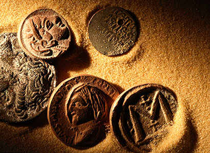 Archaeology Artifacts Ancient Coins