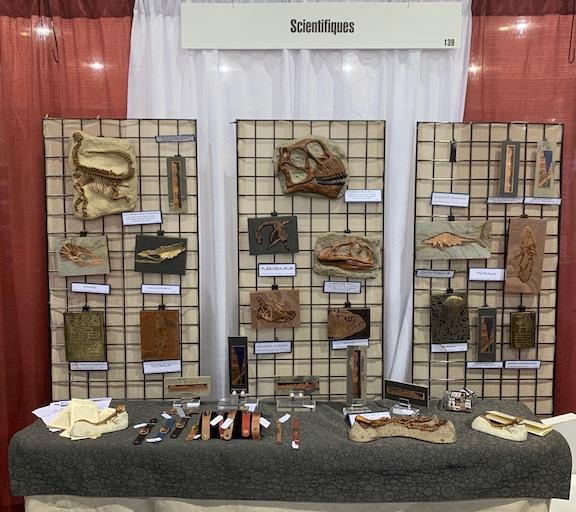 GSA 2019 artifacts display